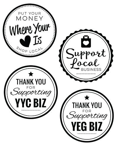 Shop Local Badges